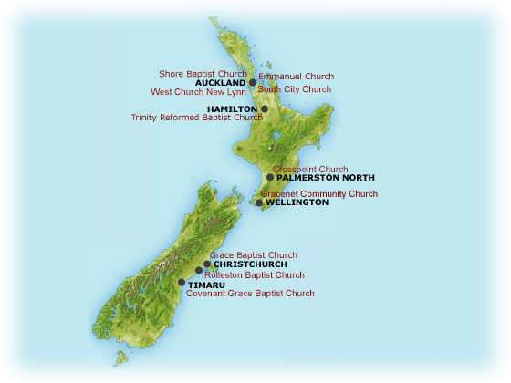 New Zealand Reformed Baptist Directory