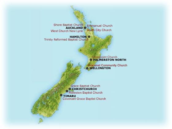 New Zealand Reformed Baptist Directory